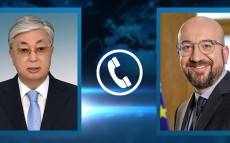 President of Kazakhstan Kassym-Jomart Tokayev had a telephone conversation with President of the European Council Charles Michel